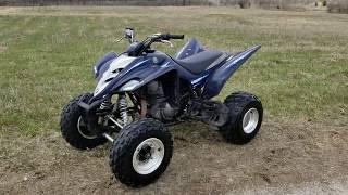 4. 2006 350 Yamaha Raptor Special Edition 350cc Atv Quad For Sale