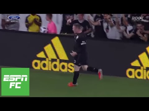 Wayne Rooney, D.C. United Vs. Portland Timbers Highlights: Two Goals, Beautiful Free Kick | ESPN FC