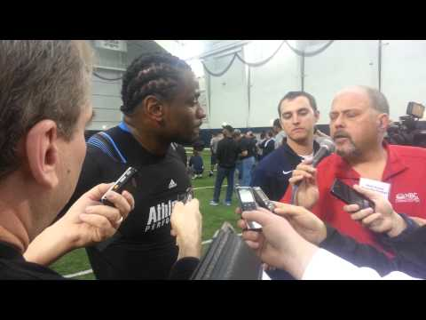 Sio Moore at UConn Pro Day 3/27/2013 video.