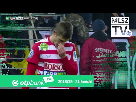 21. forduló: DVTK - Honvéd 2-1 (0-1)