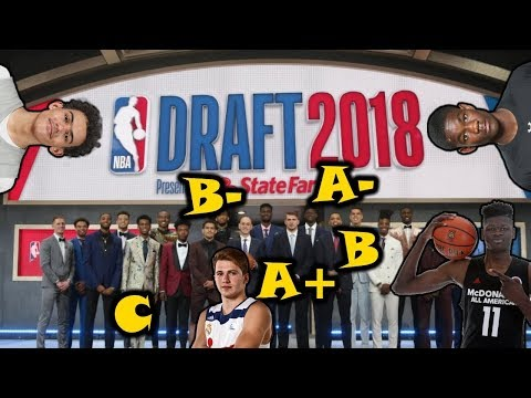 Grading EVERY Lottery Pick Of The 2018 NBA Draft