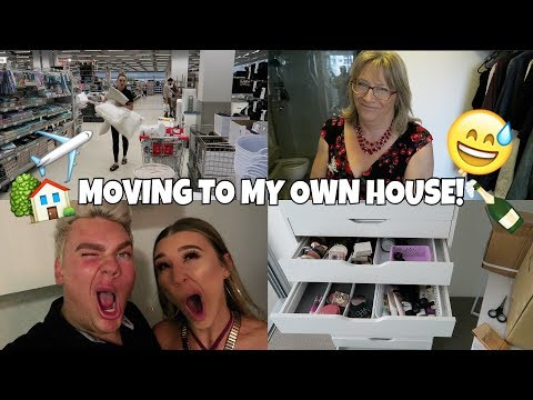 VLOG | MOVING TO BRISBANE INTO MY OWN HOME!