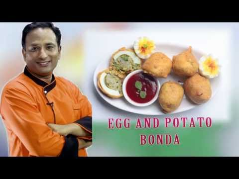 Egg Recipe , Egg Potato Bonda , Egg Bonda , Potato Recipe Bonda