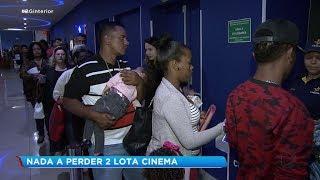 Público se emociona ao assistir filme 'Nada a Perder 2' em Bauru
