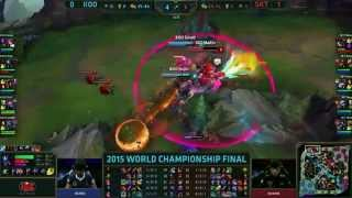Highlight CKTG 2015: Koo (Kuro Viktor) VS SKT (Faker Lulu) (Game 2)