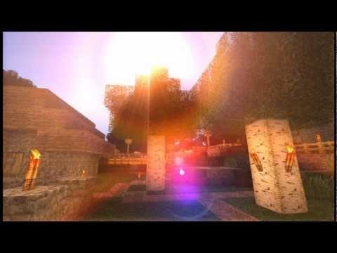 Minecraft mit Grafikmods + 256 bit Texturenpaket - Diashow
