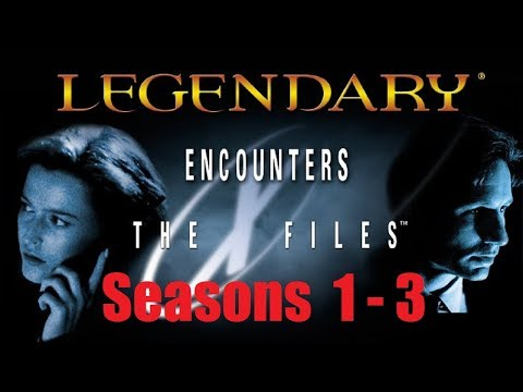 Legendary X-Files Seasons 1 to 3: Intro & Episode 1