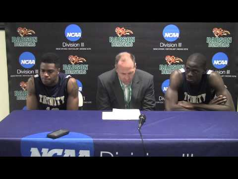 Trinity Men's Basketball 2015 NCAA Press Conference