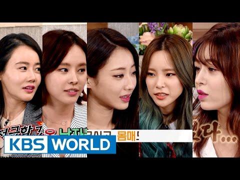 Happy Together - Actresses vs. Divas [ENG/2016.11.17] (видео)