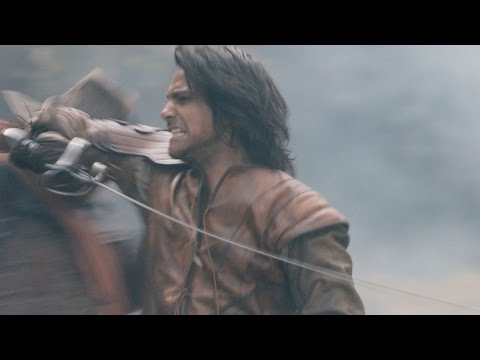 The battle in Pinon - The Musketeers: Series 2 - BBC One