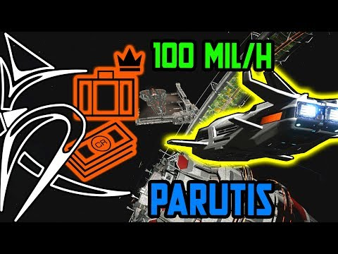 Money making meta - Parutis VIP 100 mil/h [Elite Dangerous] (видео)