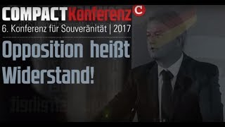 Compact Oppositionskonferenz am 25.11.