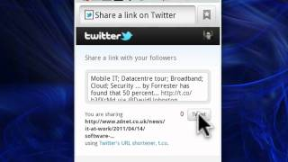 1st TwitterBing Search & Share YouTube video