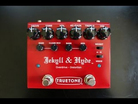 Trutone Jekyll and Hyde Overdrive-Distortion Demo Video by Shawn Tubbs – Tab N.1