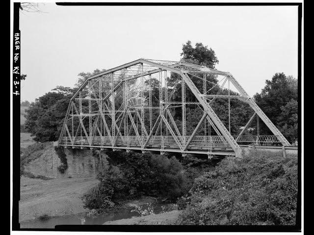 The  Historic  Bridges  of  Grant  County,  Kentucky