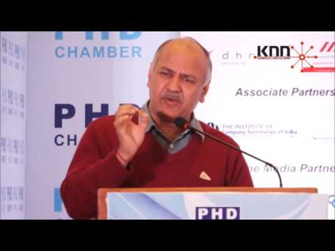 There is a need to thing from industry point of view before fixing tax rates under GST: Manish Sisodia