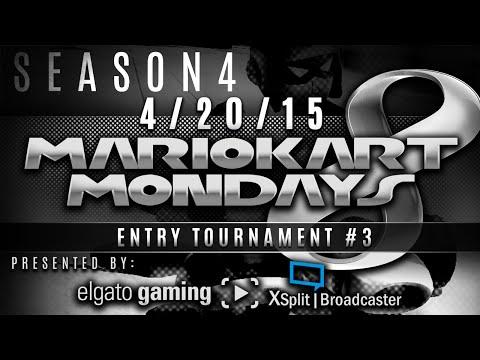 Mario Kart 8 (S4E3) - Entry Tournament #3 w/ PKSparkxx! (4/20/15) #MarioKartMondays