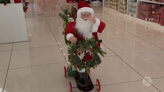 Para atrair clientes, Natal no comércio de Bauru chega em outubro