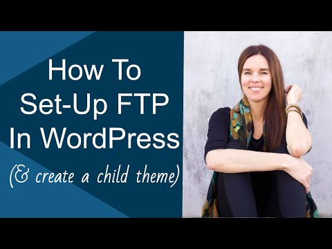 Create A Child Theme | Set Up FTP | Remove Primary Menu In Artificer Theme (WordPress)