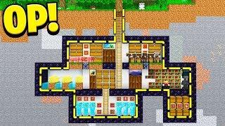 raiding a underground SECRET Minecraft base that has EVERYTHING!
