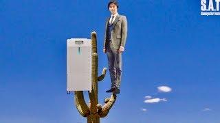 要潤がアリゾナのサボテンの先端から!?/業務用加湿器うるおリッチWEBムービーVOL3 アリゾナ篇