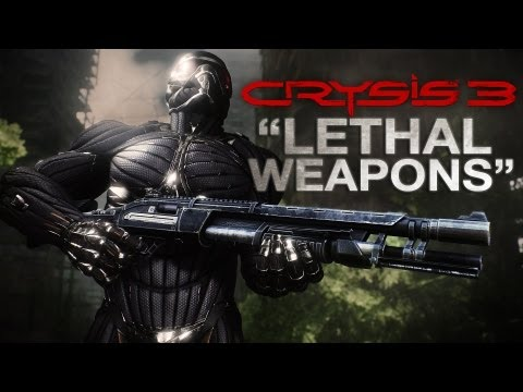 New Crysis 3 Video Shows the Lethal Weapons