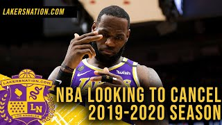 Breaking: NBA 'Angling' To Shut Down 2019-2020 Season? by Lakers Nation