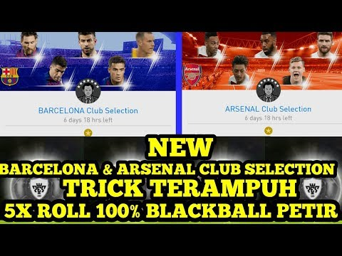 NEW !!! BARCELONA & ARSENAL CLUB SELECTION !!! TRICK TERAMPUH 100% BLACKBALL !!!