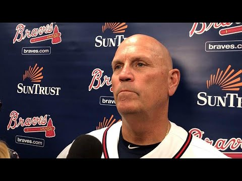 VIDEO: Snitker on Braves win and pitcher's injury