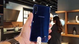 Samsung Galaxy A7 (2018) ön inceleme