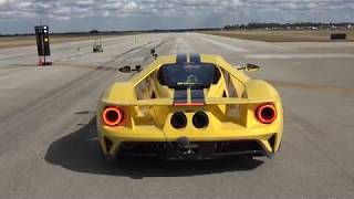 2018 Ford GT Launch at Wannagofast 1/2 Mile - Free T-Shirt by DragTimes