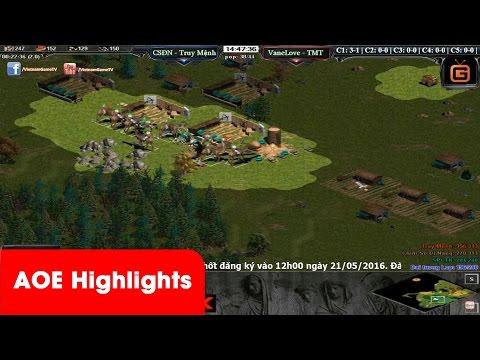 AOE HighLights - Chiến thuật ôm bom kinh dị và cái L của Chim Sẻ