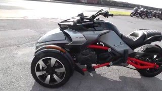 10. 001120 - 2015 Can Am Spyder F3 S - Used Motorcycle For Sale