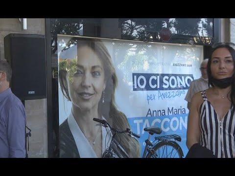 Avezzano - Inaugurata la sede elettorale di Annamaria Taccone