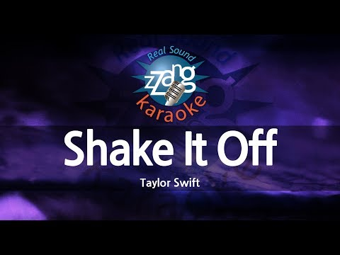 Taylor Swift-Shake It Off (MR) (Karaoke Version) [ZZang KARAOKE]