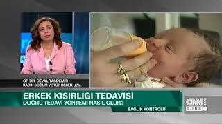 Op. Dr. Seval Taşdemir - CNN TÜRK Sağlık Kontrolü (Kısırlık Tedavisi)