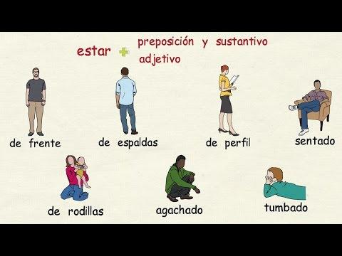 Aprender español: Posturas corporales (nivel avanzado)