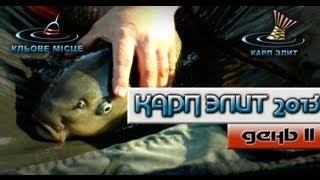 Ловля Карпа. Карп Элит 2013. День 2.