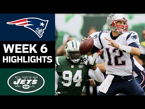 Video: Patriots vs. Jets | NFL Week 6 Game Highlights