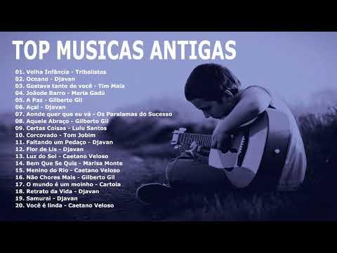 Top 20 Musicas Brasileiras Antigas no Violão Solo Instrumental (Fingerstyle)