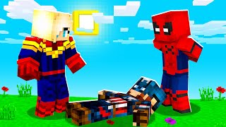 Playing As Spiderman In Minecraft Murder Mystery | JeromeASF