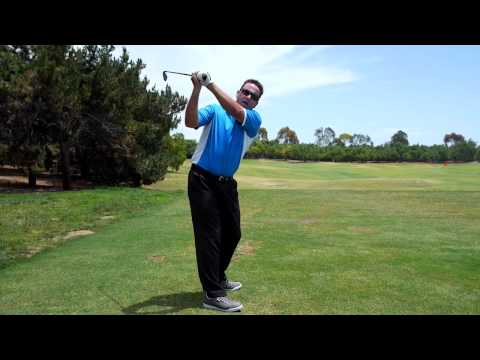 Golf Swing Left Arm Rotation and Lift