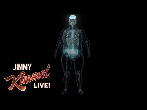 Jimmy Kimmel Examines Donald Trump's X-Ray