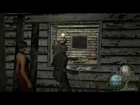 Wesker&Ada in Resident Evil 4