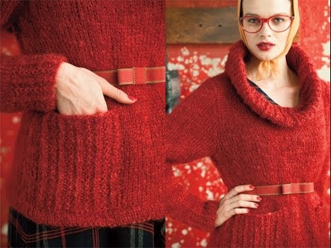 #30 Ski Sweater, Vogue Knitting Winter 2010/11