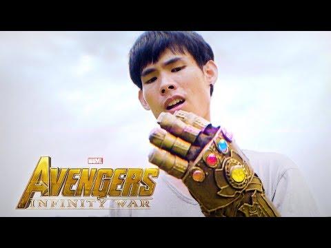 แย่งถุงมือธานอส (ล้อเลียน Infinity War)