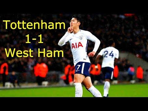 Tottenham vs West Ham 1-1 | All Goals & Highlight HD | English Premier League 04-12-2018