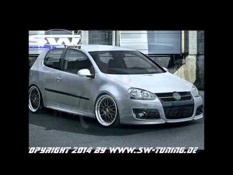 Bodykit S-Design für VW Golf V by SW-Tuning