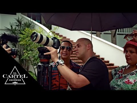 Daddy Yankee Ft. J Alvarez  -  El Amante (Making Of)