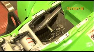 1. 2008 2009 Kawasaki KFX450R K&N Air Intake Installation